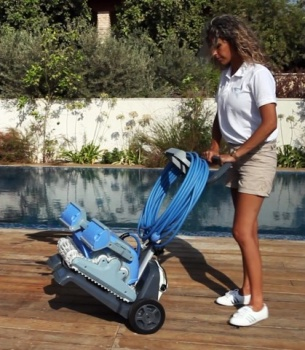 Dolphin M500 Automatic Swimming Pool Cleaner By Maytronics